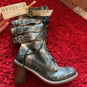 Bed Stu New Victorian laceup boots Fiona 6.5